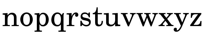 TeXGyreSchola-Regular Font LOWERCASE