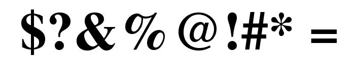 TeXGyreTermes-Bold Font OTHER CHARS