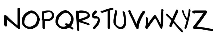 Teabeer Custom Font UPPERCASE