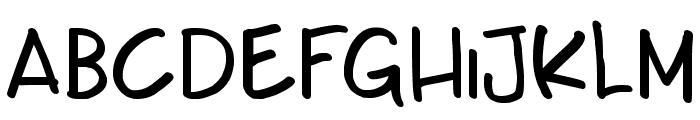 Teabeer Custom Font LOWERCASE