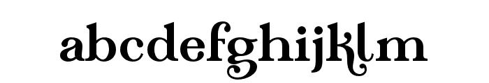 TeachDemo-Regular Font LOWERCASE