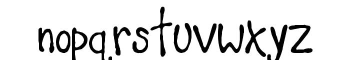 Teacher's Pet Font LOWERCASE