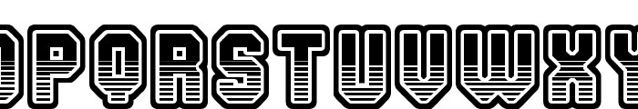 Team 401 Font LOWERCASE