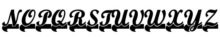 TeamSpirit Font UPPERCASE
