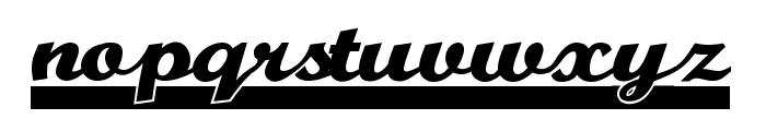 TeamSpirit Font LOWERCASE