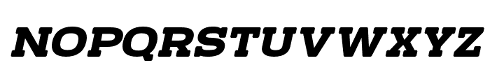 TeamWork-Italic Font UPPERCASE