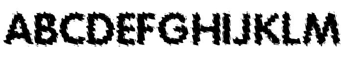 Tear Font UPPERCASE