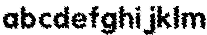 Tear Font LOWERCASE