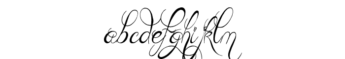 Teaspoon Display Font LOWERCASE