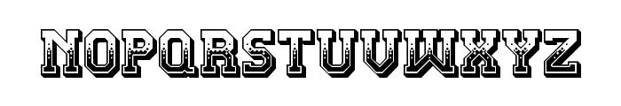 Teatral Regular Font LOWERCASE