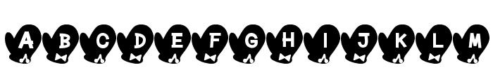 Tebukuro Font Font UPPERCASE