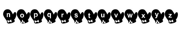 Tebukuro Font Font LOWERCASE