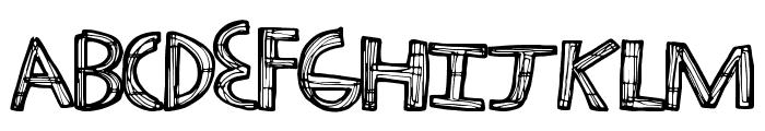 TechHaus Font UPPERCASE