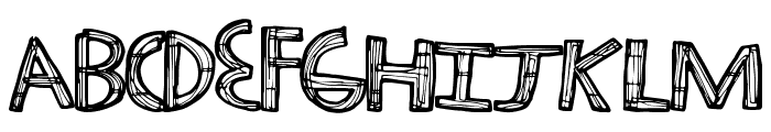 TechHaus Font LOWERCASE