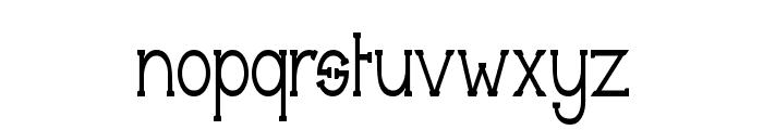 Technically Insane Narrow Font LOWERCASE