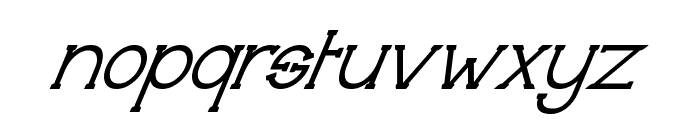 Technically Insane Superitalic Font LOWERCASE