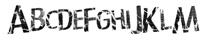 TechnoLogic Font UPPERCASE
