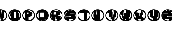 TechnoOSix Font UPPERCASE