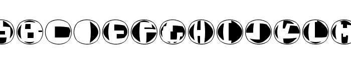 TechnoOSix Font LOWERCASE