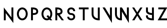 TechnoWanker Font LOWERCASE