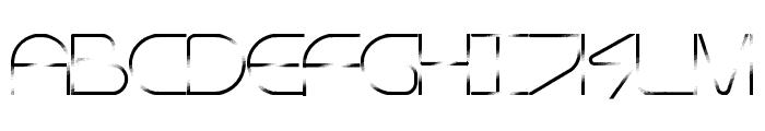 Technocracy Font UPPERCASE