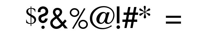 Technovia Caps Font OTHER CHARS