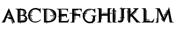 Technovia Caps Font LOWERCASE