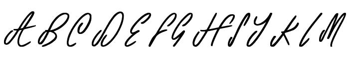 Teddy Bear Font UPPERCASE