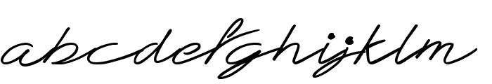 Teddy Bear Font LOWERCASE