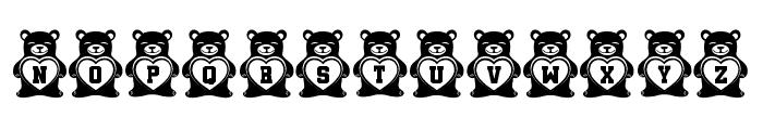 Teddy Bears Regular Font UPPERCASE