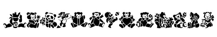 TeddyBears2 Font UPPERCASE