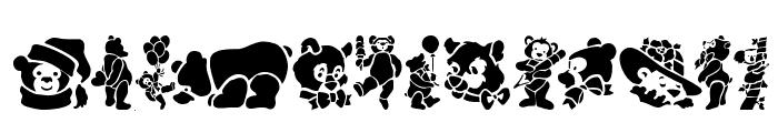 TeddyBears Font UPPERCASE