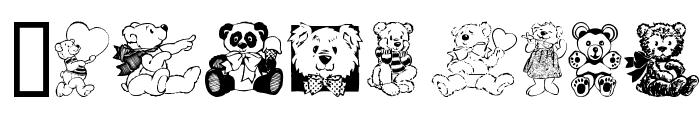 Teddyber V1.1 Font OTHER CHARS