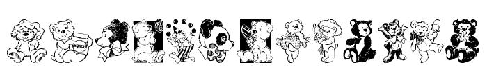 Teddyber V1.1 Font UPPERCASE