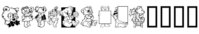 Teddybers Too Font LOWERCASE