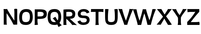 Teen-Bold Font UPPERCASE