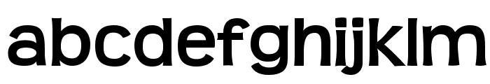 Teen-Bold Font LOWERCASE
