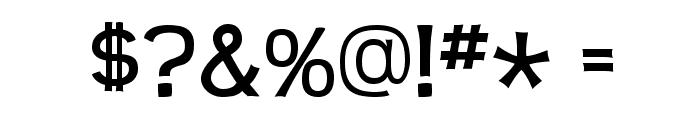 Teen-Regular Font OTHER CHARS
