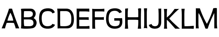 Teen-Regular Font UPPERCASE
