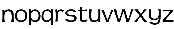 Teen-Regular Font LOWERCASE