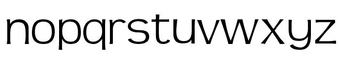 TeenLight-Regular Font LOWERCASE