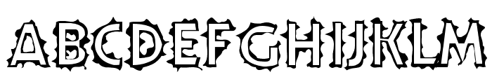 Teenick Font UPPERCASE