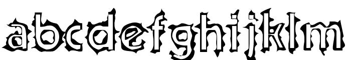 Teenick Font LOWERCASE
