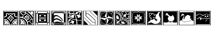 Tegel Font LOWERCASE