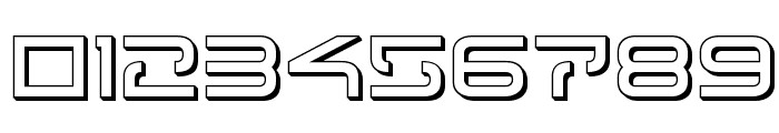 Tele-Marines 3D Font OTHER CHARS
