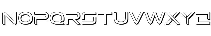 Tele-Marines 3D Font UPPERCASE