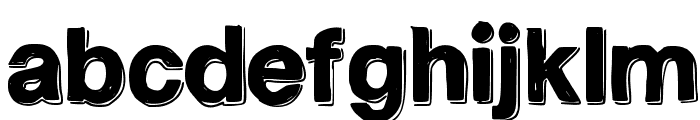 TeleVision Font LOWERCASE