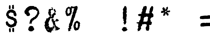 TelegramHPLHS Font OTHER CHARS