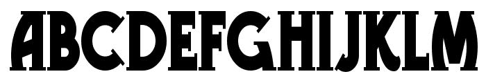 Telegraph Font UPPERCASE