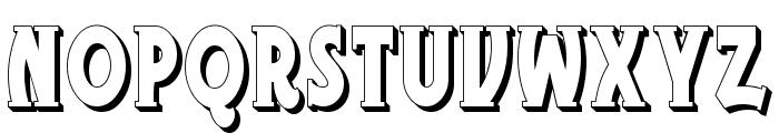 TelegraphShodwn Font UPPERCASE